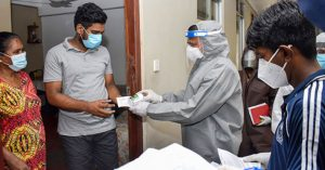 Following successful results, the Covid Task Force in Sri Lanka was established for quarantined persons.